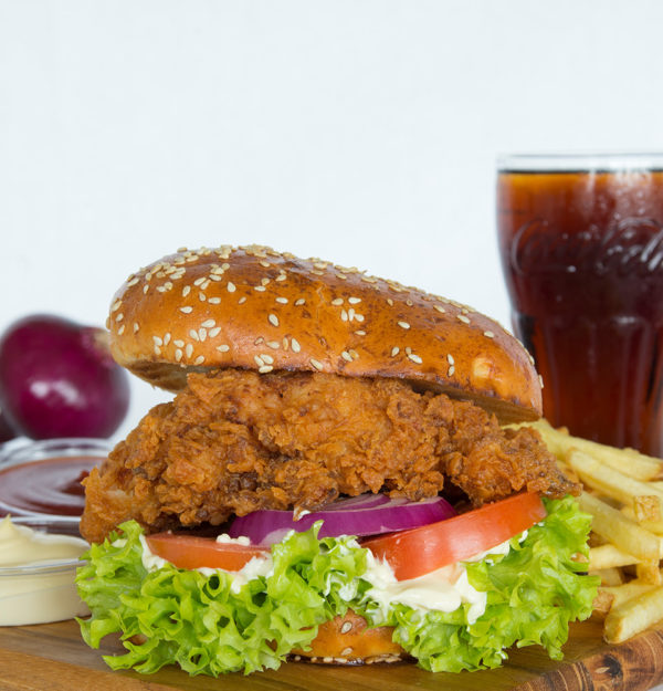 2. Crispy Chicken Burger
