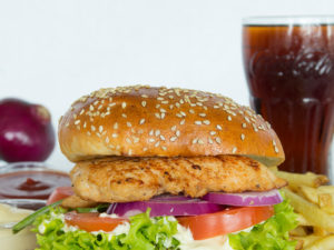 3. Roasted Chicken Burger